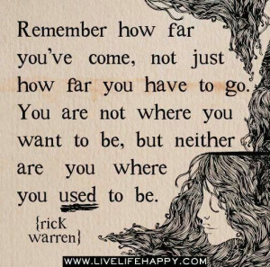 Rick Warren- how far you've come