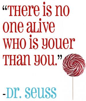 Dr. Seuss - Inspirational Quotes
