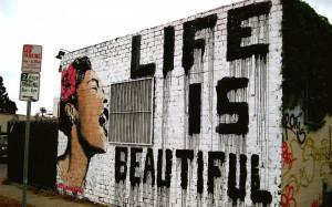 art graffiti mood happy motivational inspiration women statement quote ...
