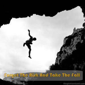 Motivational Quotes Sayings With Man Jumping Image