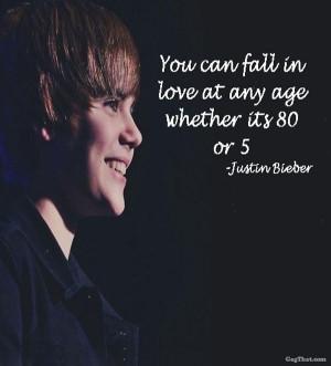 Justin Bieber Love Quote