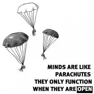 Keep an open mind #quotes