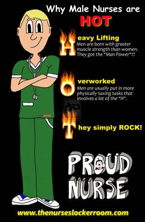 Why Male Nurses are HOT by evaganda