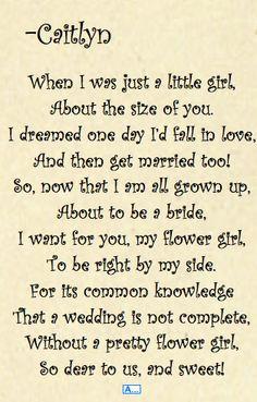 Bridesmaid Poems