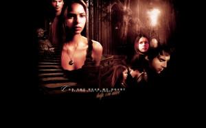 The Vampire Diaries TV Show Damon and Elena Wallpaper