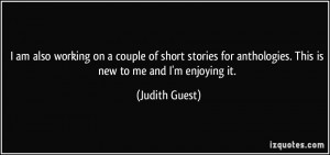More Judith Guest Quotes