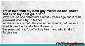 In Love With My Best Guy Friend Quotes Love best guy friend quotes