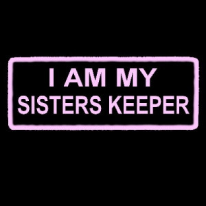 AM MY SISTERS KEEPER - pink