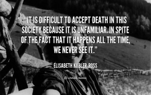 Quotes About Accepting Death