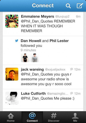 Phil & Dan Quotes xD