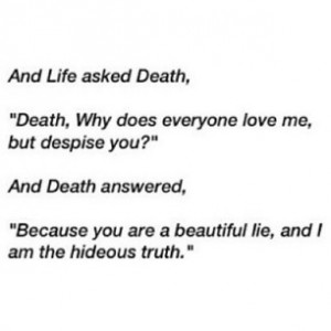 weeks ago - #Life #death #sayings #Quotes #dark #poem #poetry #gothic ...