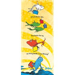 Posters Decor Childrens Dr Seuss One Fish Two Banner