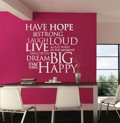 ... office decor. For more information about wall decals, wall quotes