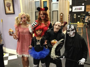 "Halloween On The Set Of Disney Channel's ""Jessie"" October 31 ..."