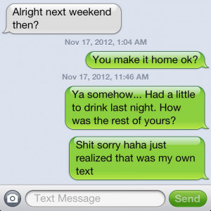 Texts Sent to the wrong person 5
