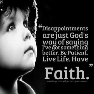 have faith quotes about life