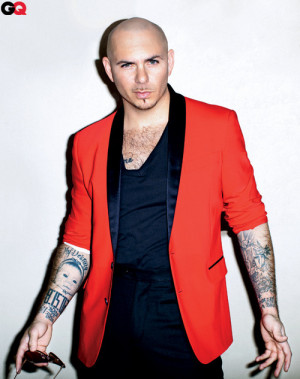 singer, pitbull, celebrity, face, photo, arm, tattoos ...