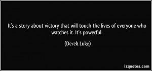 Derek Luke Quote