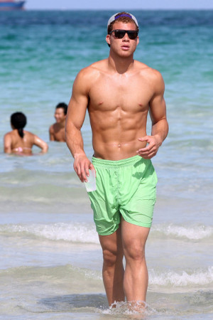 Blake Griffin LA Clippers player Blake Griffin spends his NBA lockout ...