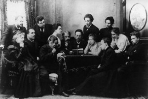 Anton Chekhov with cast of The Seagull in Moscow, 1899DORN - Yes, but ...