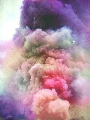 pretty Cool smoke style hipster indie clouds colours