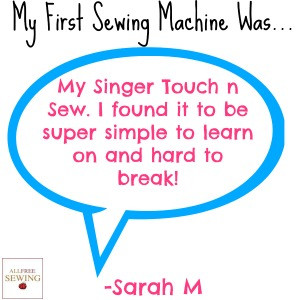 Your First Sewing Machine: Tips From Our Readers