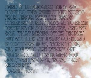 radical david platt study guide