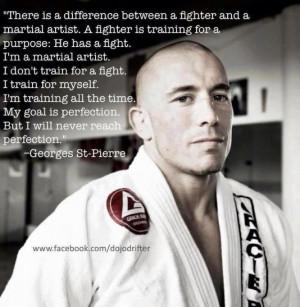 Georges St Pierre Quotes Goals