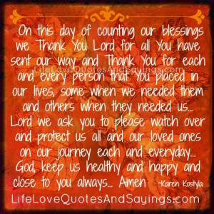 God Keep Us Healthy And Happy..