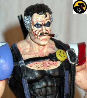 The Comedian-Edward Blake (Watchmen) Custom Action Figure