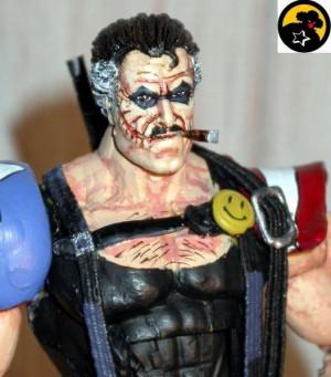 The Comedian-Edward Blake (Watchmen) Custom Action Figure