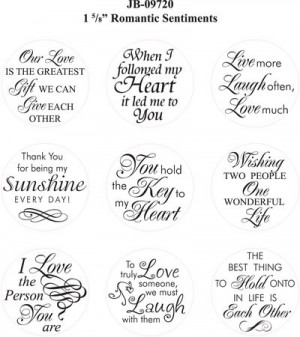 ... visual of all of the sentiments in the new Romantic Sentiments set