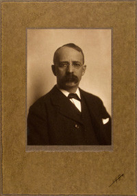 Edward H Harriman Platinum Print photograph by Edward Curtis