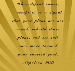 Napoleon hill, quotes, sayings, plans, goal, wisdom