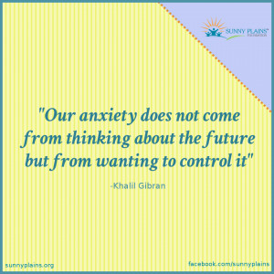 Anxiety is About Control