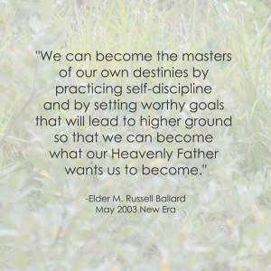 LDS Goals Quote M. Russell Ballard http://sprinklesonmyicecream ...