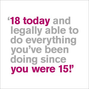 Your 18th – How Did You Celebrate and What Gifts Did You Receive?