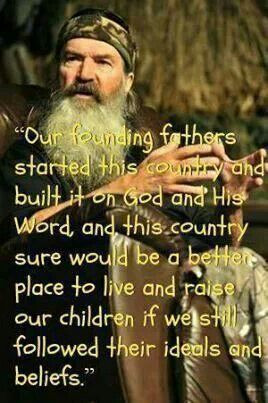 Phil Robertson, on god, country & values.
