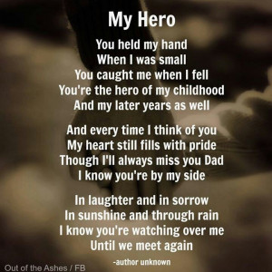 Miss and love you dad. You will always be my hero. Happy Fathers Day ...
