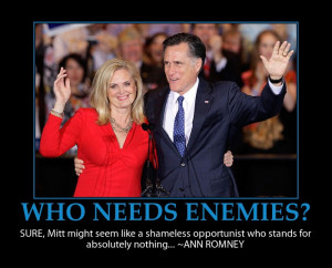 Ann Romney fail – Mitt quote funny-poster