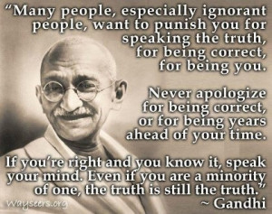 Liked these Mahatma Gandhi quotes ? Then share them with everyone you ...
