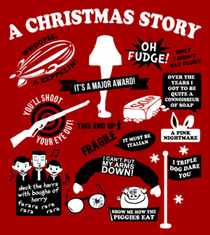 ... Movie T-Shirts > A Christmas Story T-Shirts > A Christmas Story Quotes