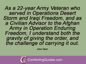 Quotes From Allen West