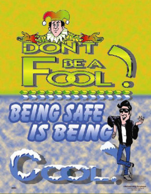 Be Cool Safety Poster
