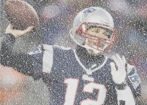 ... Greeting Cards > Tom Brady Greeting Cards > Tom Brady Quotes Mosaic