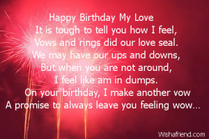 ... quotes poems birthday love quotes happy birthday my love quotes poems