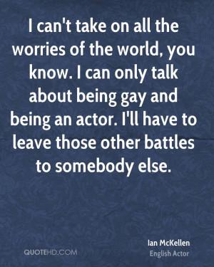 Ian McKellen Quotes