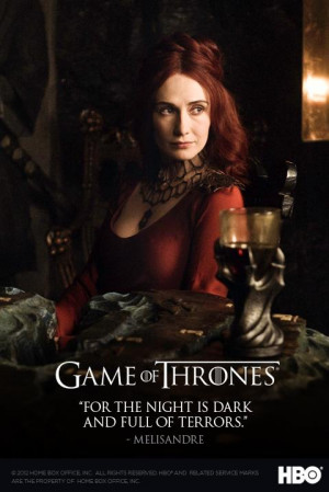 Game of Thrones Season 2 Quote Postcards