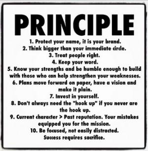 Quotes   Principle...Success requires sacrifice. #social #living #life ...