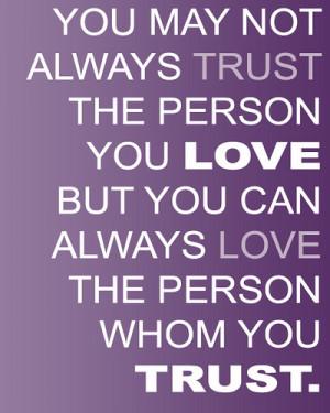 Quotes On Trust (26)